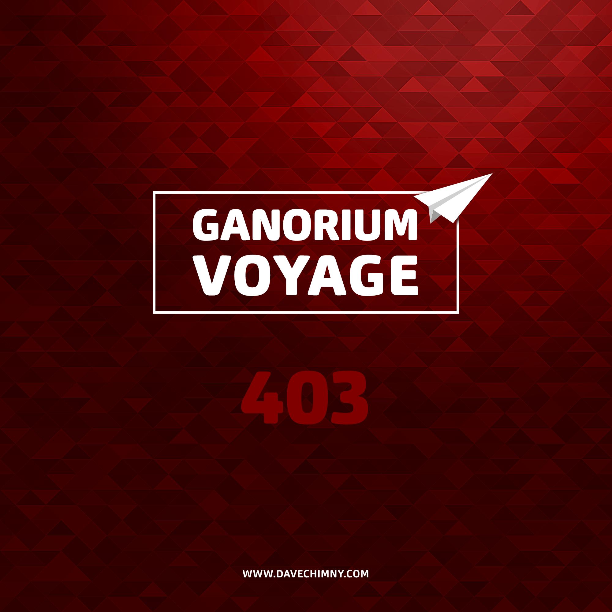 Dave Chimny - Ganorium Voyage 403